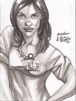 Claire Temple for LUKE CAGE 2 [w / VIDEO] by Lightning-Powered