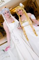 Queen Serenity and Princess Serenity by EminenceRain