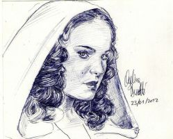 Amidala Green Robe Biro by AngelinaBenedetti