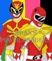 Saban's Power Rangers 20th Anniversary by DarkOliver