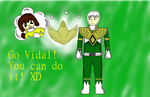 Contest Entry: Vidal the MMPR Green Ranger by Cherrywind101