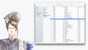 Minimal Theme for iTunes 10.7 (Mac) by k-profiler