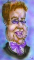 Caricature - Sir Elton John by teague