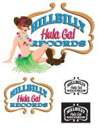 Hillbilly Hula Gal Records alt by QuicheLoraine