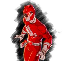 Red Rranger Redesign by sehroyal