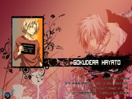 Hayato Gokudera Wallpaper by pirateheart