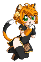 Chibi Commission ~  Amulet-Maru by Mira-Lamai