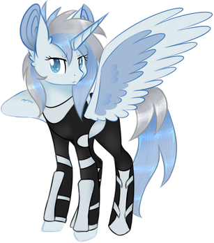 Platinum Steel [Commission] 1/3 by Emypony