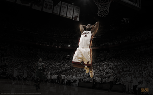LeBron James Wallpaper l Rafael Vicente Designs by RafaelVicenteDesigns