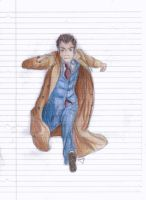 David Tennant as Doctor Who by saving-an-apocalypse