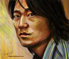 Sung Kang by Feyjane