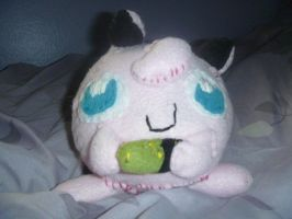 JigglyPuff Plushie by Sabretooth-Fox