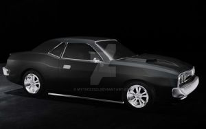 dodge charger by myth123123