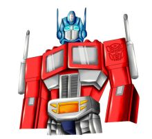 .:Gift:. Optimus Prime by Blaze-Fiery-Kitty