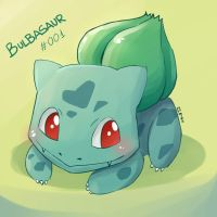 Bulbasaur by Rosana127