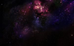 Deep Space Nebula by Hameed