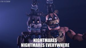 Nightmare Freddy's by Trycon1980