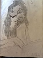 My Scar Drawing by TheRealSexyKate