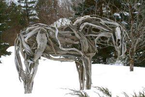 DriftWood Horse by tactimus