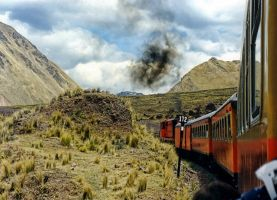 Last station Machu Picchu by zvegi