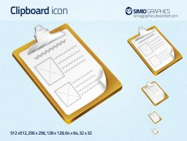 Clipboard Icon by simiographics