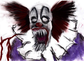 Pennywise, The Dancing Clown by Derry93