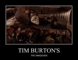 Tim Burton: The Hangover by Feare909
