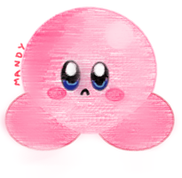 Sad Kirby by NeverWastedTime