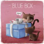 THE BLUE BOX by CookiesOChocola
