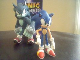 Sonic Unleashed by SpongeDudeCoolPants