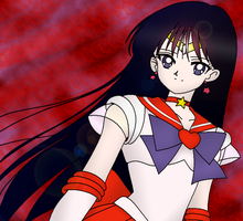 Rei - Sailor Mars by IslandWriter