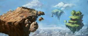 Floating Islands by Quigleyer