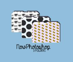 3 Folders- NowPhotoshop by NowPhotoshop