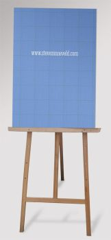 Free Easel Mock Up by WokDesign