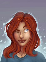 Redhead Doodle by Noxx-ious