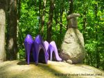 Partner look in the woods 5 - In Line by HighHeelsArt