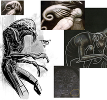 Prometheus Mural Spec sketch by T-RexJones