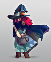 Witch color test by Algosky