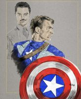 Captain and Howard by workofaart