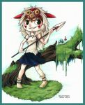 Princess Mononoke by TalinComill