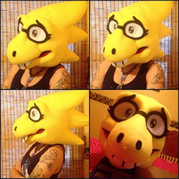 Dr. Alphys Cosplay by Cavity-Sam