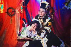 Trinity Blood - Abel and Seth by Faeryx13