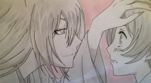 Tomoe x Nanami ~ Finished. by thegrudgegirl96