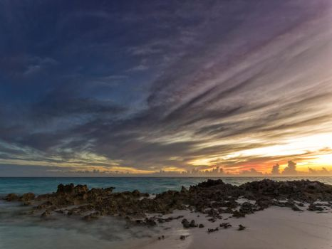 One more coral sunset by peterpateman