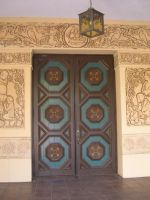 Old Doors with low relief by fantreasureplanetljs