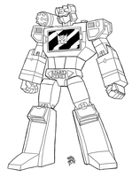 Quickdraw session Tf Soundwave by Mono-Phos