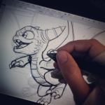 Another sketch by Fico-Ossio