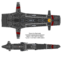 Aquila class Attackstar by Barricade