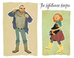 The Lighthouse Keeper by lemonflower