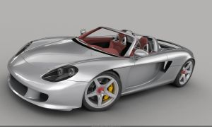 Porsche Carrera GT WIP 6 by mmajestik